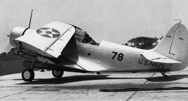 Торпедоносец Douglas TBD-1 Devastator