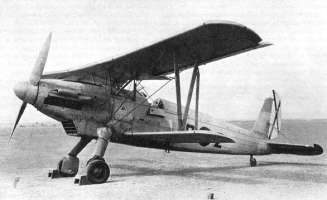 Истребитель Arado  Ar.66f