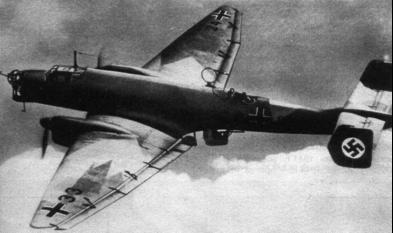 Бомбардировщик Junkers - Ju 86D-1