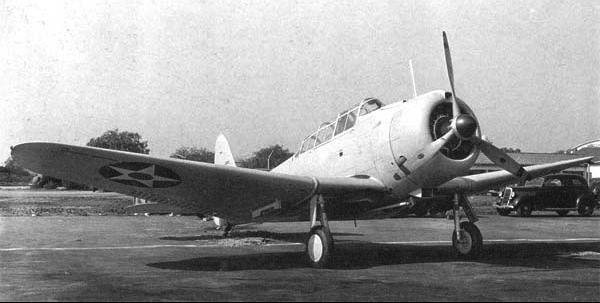 Палубный бомбардировщик Dauntless Douglas - SBD-3
