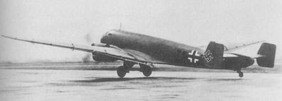 Бомбардировщик Junkers - Ju 86R-1
