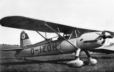 Учебно-тренировочный самолет Arado Ar -76