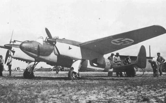 Учебно-тренировочный самолет Hanriot  H-232.2