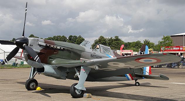 Истребитель Morane-Saulnier MS.412
