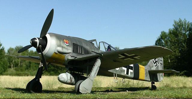 Истребитель Fw. 190A