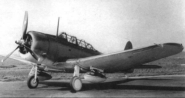 Палубный бомбардировщик Dauntless Douglas - SBD-6
