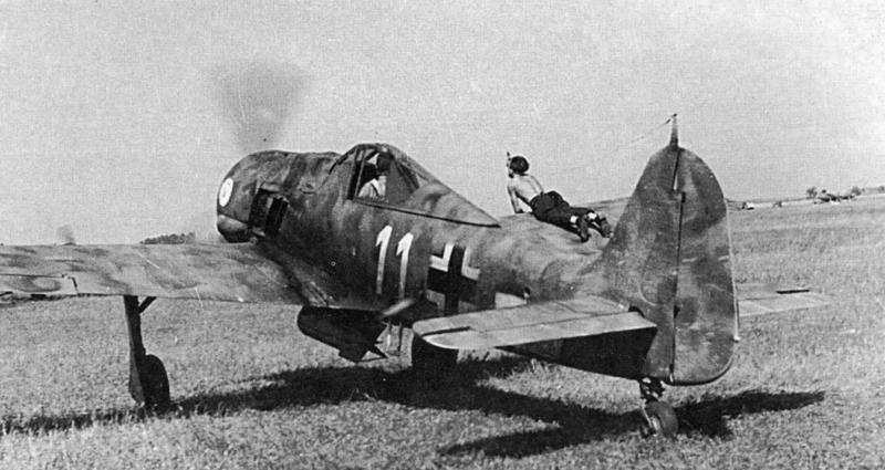 Истребитель Fw. 190 F
