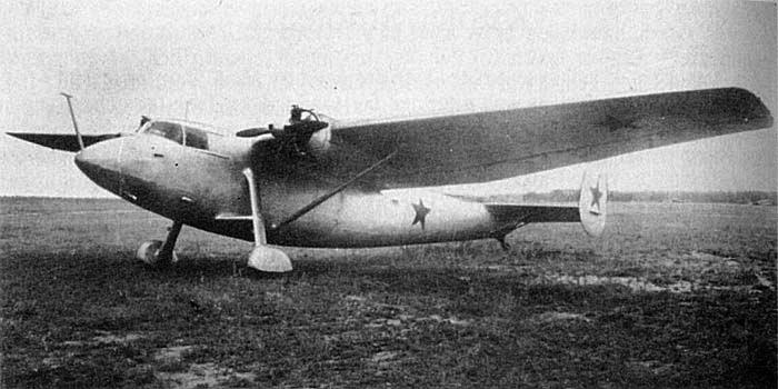 Легкий транспортный самолет  Ще-2