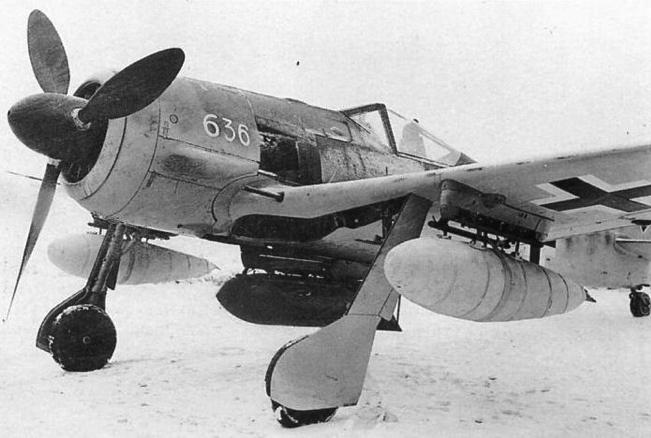 Истребитель Fw. 190 G