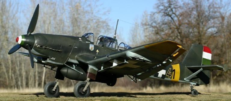 Бомбардировщик Junkers Ju 87- D