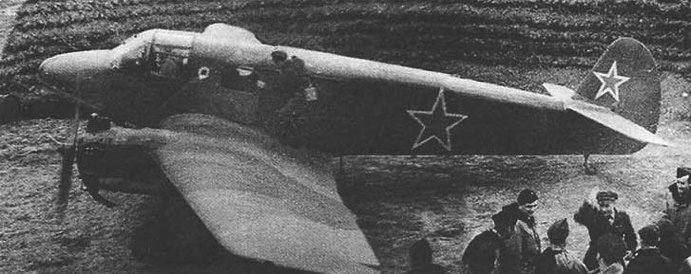 Транспортный самолет Як-6