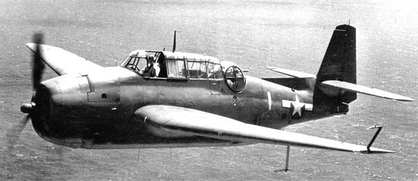Палубный торпедоносец Grumman Avenger - TBF-1C