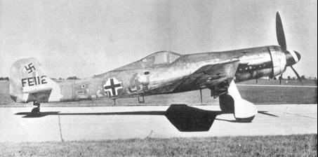 Истребитель Focke-Wulf Ta 152-Н