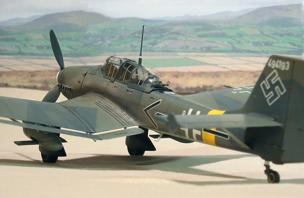 Бомбардировщик Junkers - Ju 87-G