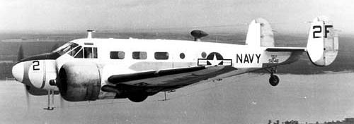 Транспортный самолет Beech С-45 Expeditor