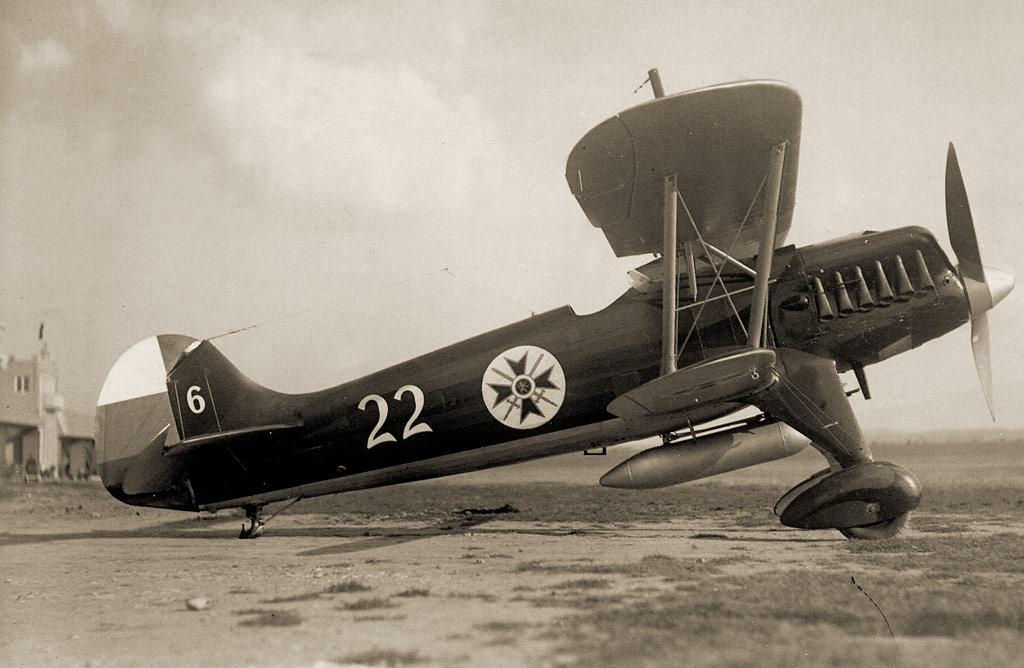 Истребитель Heinkel He-51