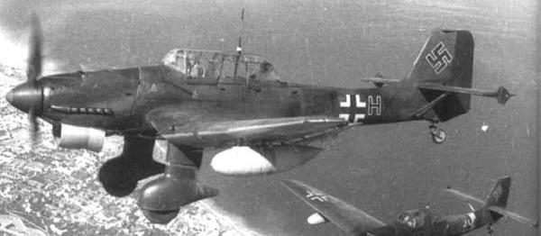 Бомбардировщик Junkers Ju 87- R