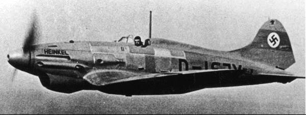 Истребитель Heinkel  He.112