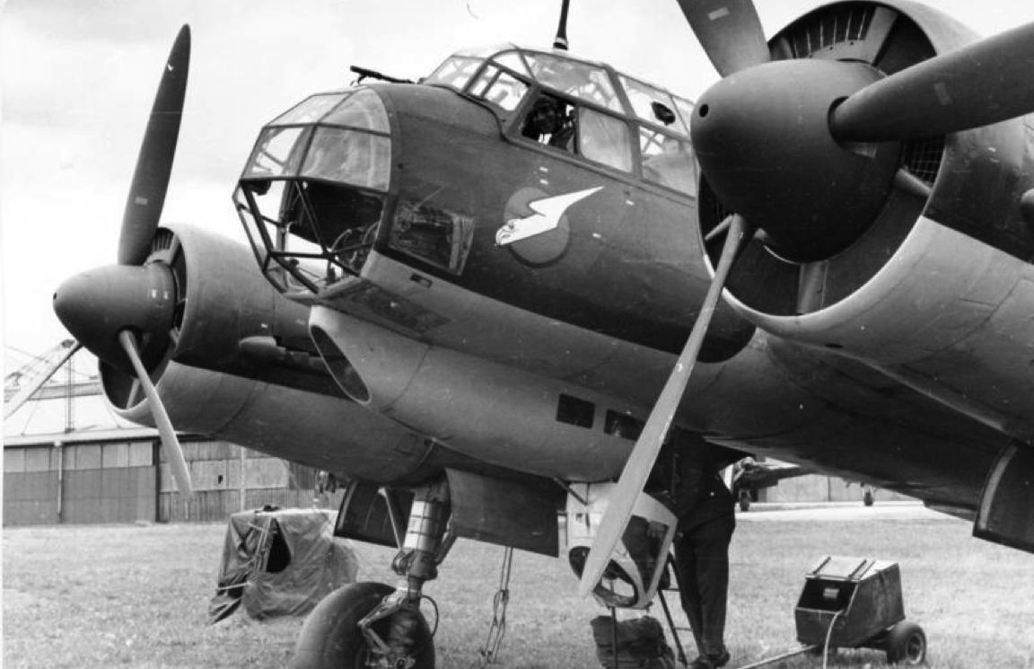 Бомбардировщик Junkers 88-А