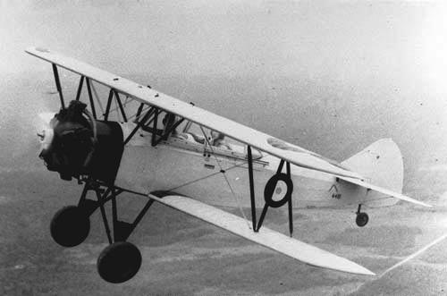 Учебно-тренировочный самолет  Fleet 16 Finch