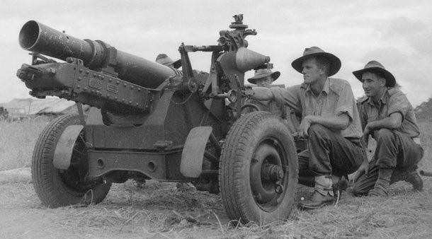 Австралийский вариант «QF-25» - Short Mark I