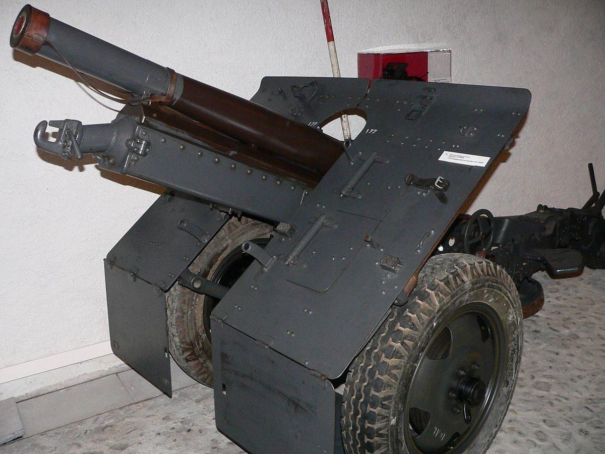 Пушка 75-mm Bofors Model 1934