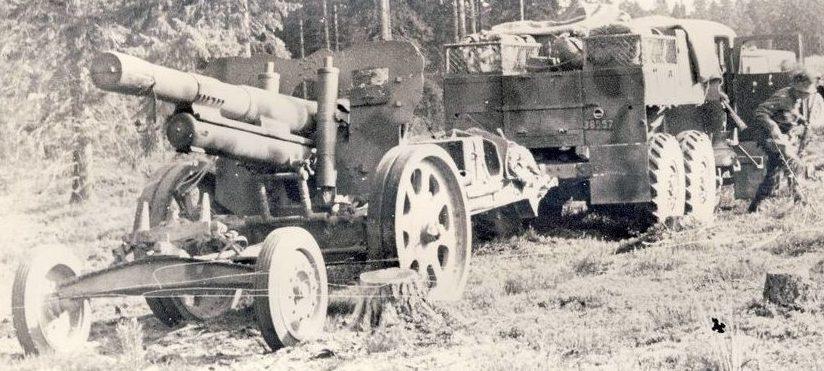 Гаубица Bofors 15-сm m/38