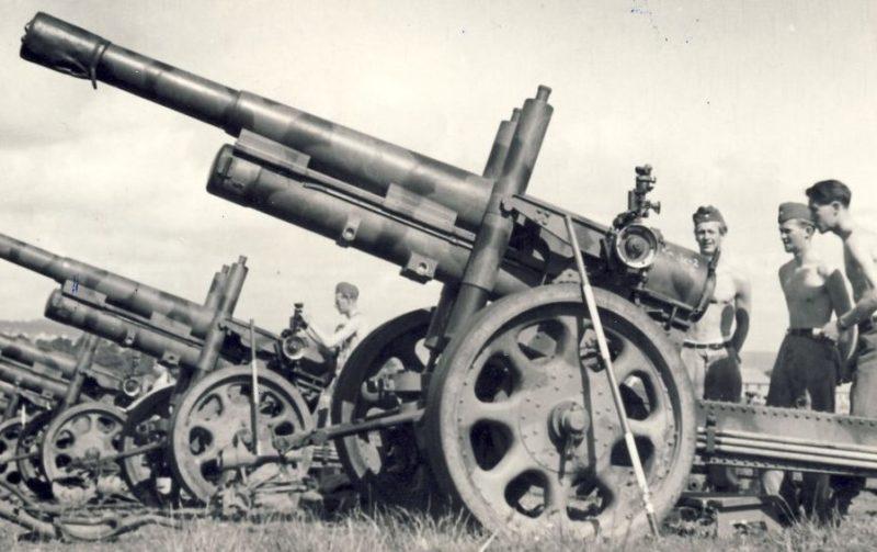 Гаубица Bofors 15-cm m/39