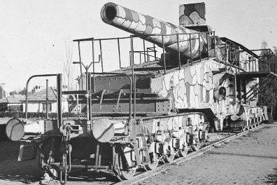 Железнодорожное орудие 28-cm SK L/40 Bruno