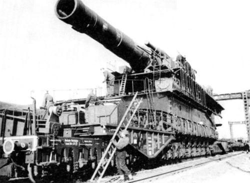 Сверхтяжелое железнодорожное  орудие «Dora»