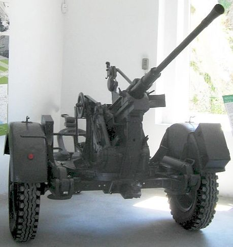 Буксируемая зенитная пушка 20-mm FlaK-30
