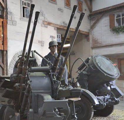 Зенитная пушка 20-mm Flakzwilling 36