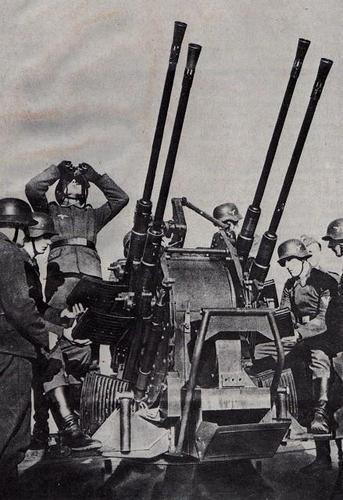 Зенитная пушка 20-mm FlaKvierling 38