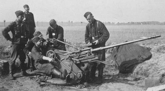 Зенитная пушка 20-mm FlaK-38