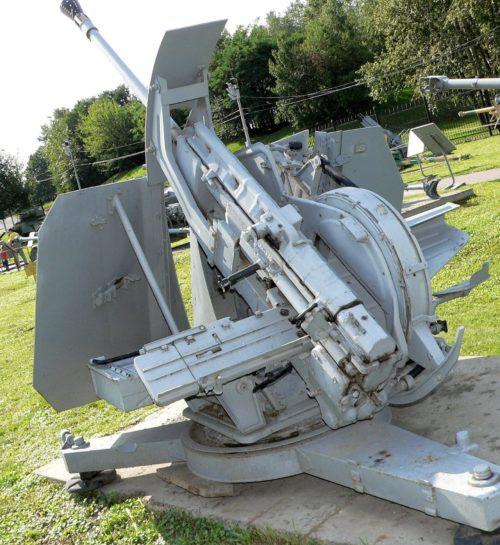 Зенитная пушка 3.7-cm Flak-43 Zwilling