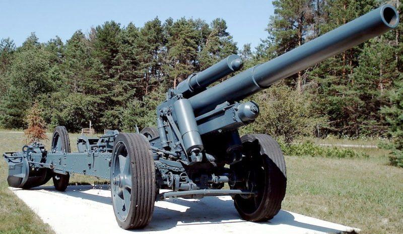 Тяжелая полевая гаубица 15-cm sFH-18