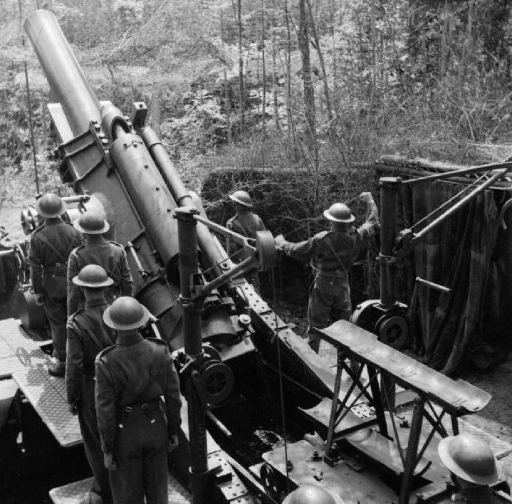 Тяжелая осадная гаубица BL-12 inch Howitzer