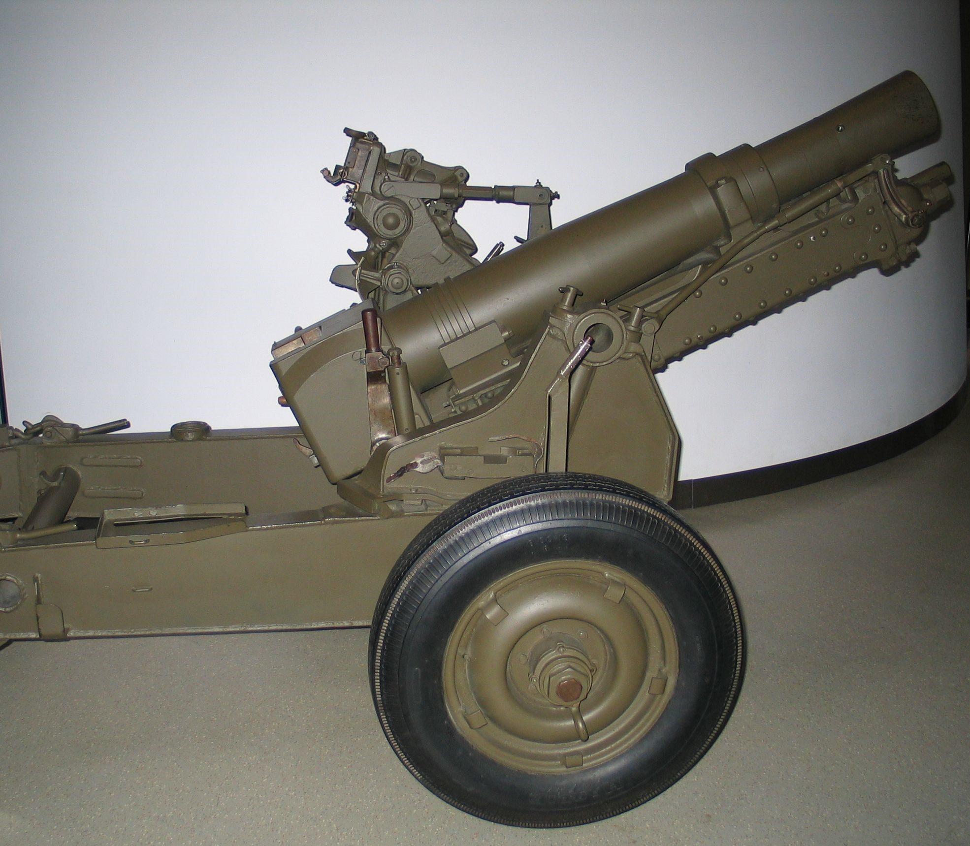 Пушка-гаубица Ordnance QF-25-pounder Short.