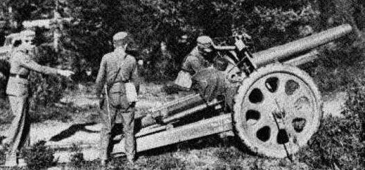 Полевая гаубица 12-cm felthaubits/m32