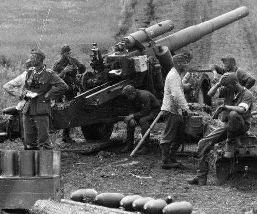 Гаубица 15-cm sFH-18