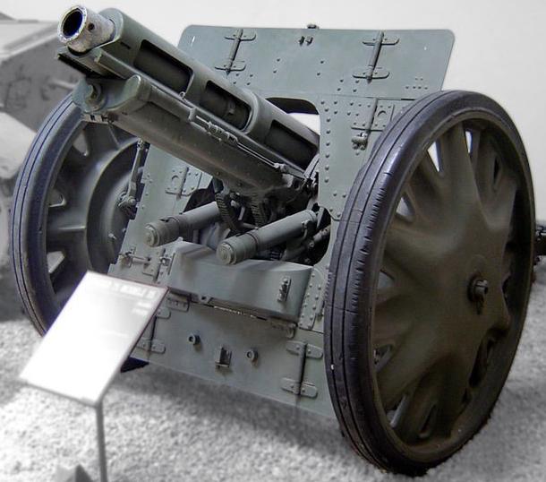 Горная гаубица Obice dа 75/18 modello 35