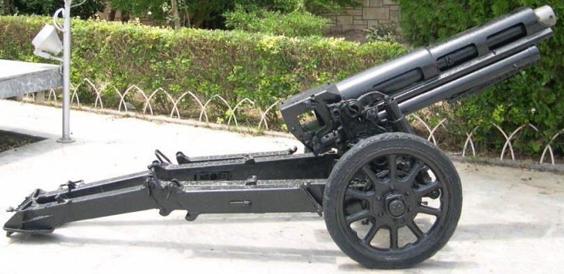 Горная гаубица Obice dа 75/18 modello 34