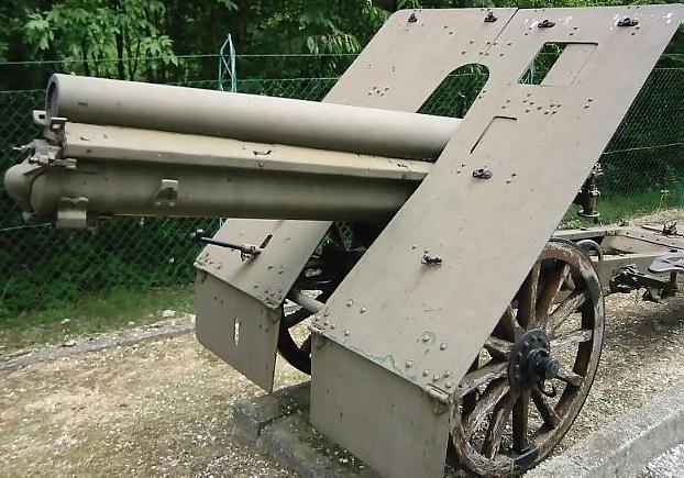 Горная пушка «10-cm Gebirgskanone M. 16».
