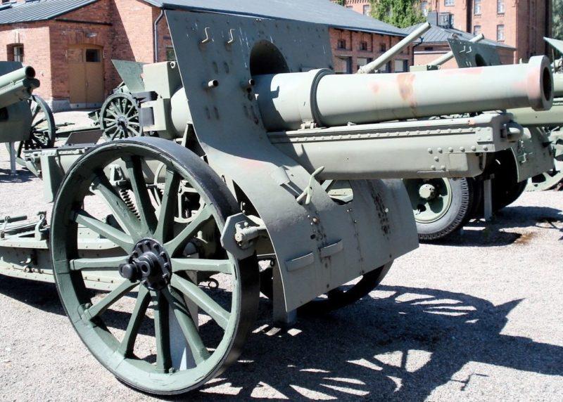 Гаубица Canon de 155 C modèle 1917 Schneider