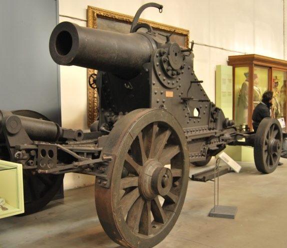 Мортира 270 mle 1885 (Bange-270)