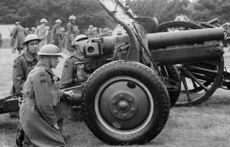 Полевая гаубица QF- 4.5 inch