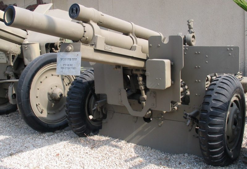 Гаубица 105-mm Howitzer M-101