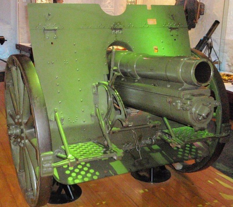 120-мм гаубица leFH 08