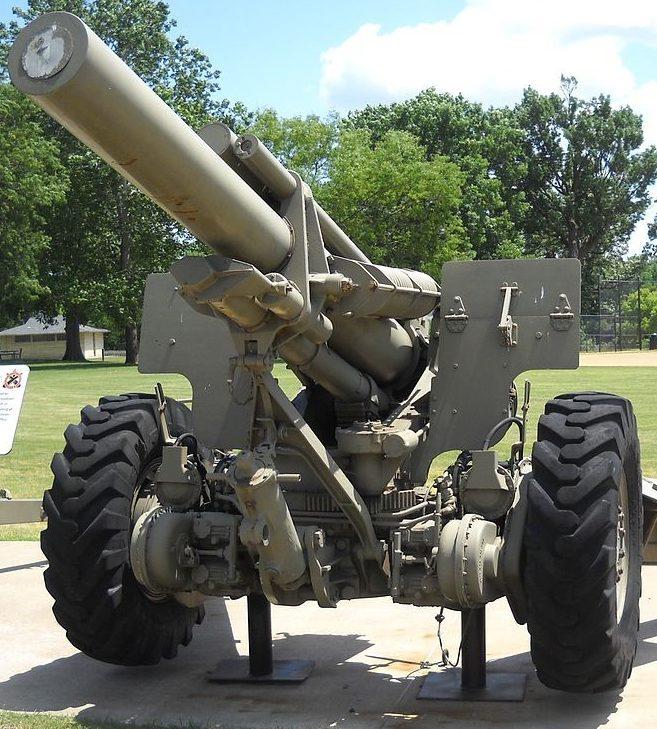 Гаубица 155-mm Howitzer М-1 (M-114).