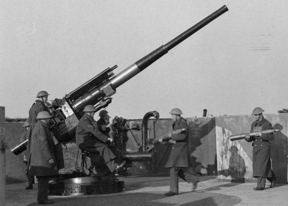 Зенитная пушка QF-4.5 Inch Mk -II